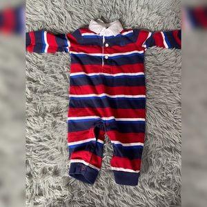 2️⃣for$2️⃣5️⃣ Chaps Striped Jumpsuit